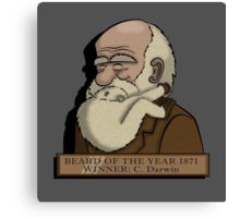 Beard Of The Year Canvas Print