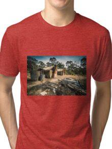 Abandoned Bush house #2 Tri-blend T-Shirt