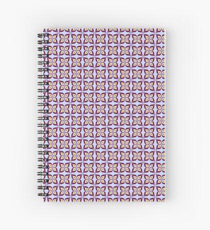 Petal Pattern Spiral Notebook