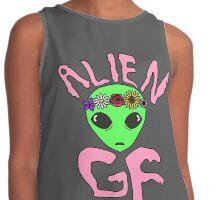 Alien Girlfriend Contrast Tank