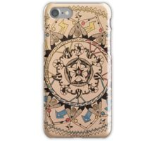 Peaceful Chaos iPhone Case/Skin