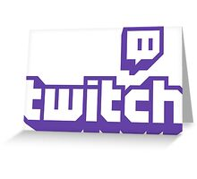 twitch tv Greeting Card