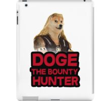 Doge (dog) the bounty hunter iPad Case/Skin