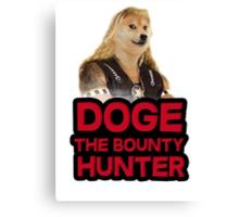 Doge (dog) the bounty hunter Canvas Print