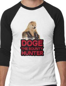 Doge (dog) the bounty hunter Men's Baseball ¾ T-Shirt