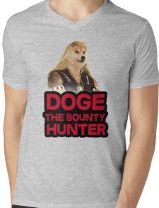 Doge (dog) the bounty hunter Mens V-Neck T-Shirt