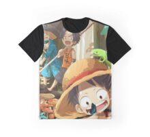 one piece trio Graphic T-Shirt
