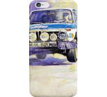 1973 Rallye of Portugal BMW 2002 Warmbold Davenport iPhone Case/Skin