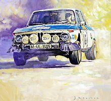 1973 Rallye of Portugal BMW 2002 Warmbold Davenport by Yuriy Shevchuk