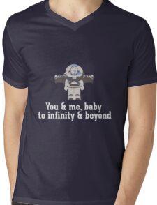 To Infinity & Beyond Mens V-Neck T-Shirt