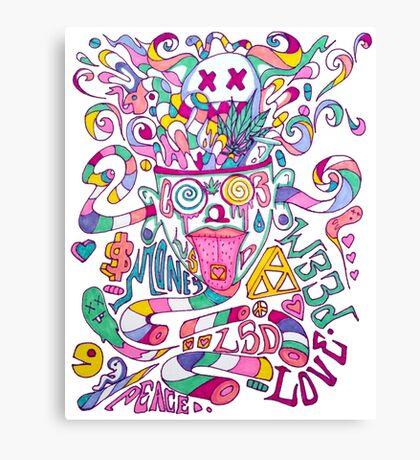 Pastel Drugs Canvas Print
