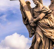 Angel in Rome Sticker