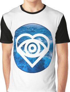 Future Hearts   Tidal Waves Graphic T-Shirt