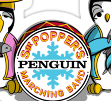 Sgt Poppers Penguin Marching Band Sticker