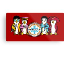 Sgt Poppers Penguin Marching Band Metal Print