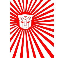 Autobot Sunburst Photographic Print