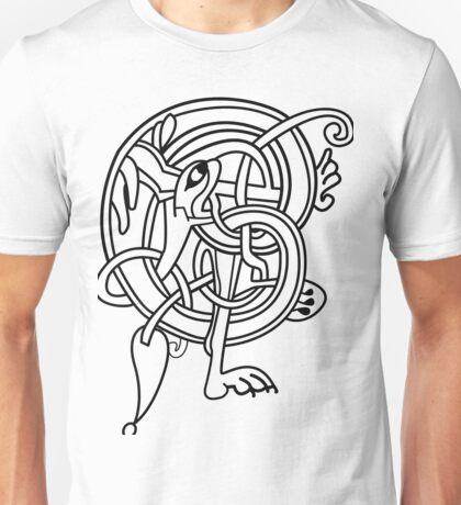Kells Letter E Unisex T-Shirt