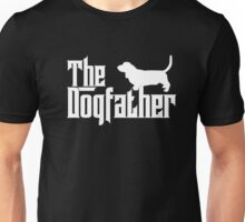 The Dogfather Basset Hound T-shirt Dog Lover Gifts Unisex T-Shirt