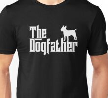 The Dogfather Bull Terrier T-shirt Dog Lover Gifts Unisex T-Shirt