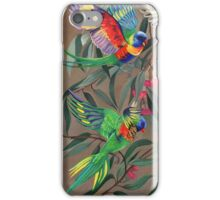Birds from Paradise. Rosellas iPhone Case/Skin