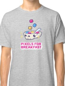 Pixels For Breakfast Classic T-Shirt