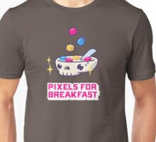 Pixels For Breakfast Unisex T-Shirt