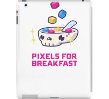 Pixels For Breakfast iPad Case/Skin