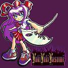 Devoured By Japanese Schoolgirls - Purple Girl by YukiYukiYasumi