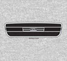 Datsun 2000 Grille - light colors One Piece - Long Sleeve