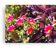 Summer Flowers Number One Canvas Print