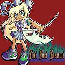Devoured By Japanese Schoolgirls - Beach Blonde Girl by YukiYukiYasumi