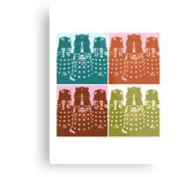 Dr Who Daleks Modern Art Metal Print