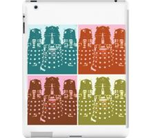 Dr Who Daleks Modern Art iPad Case/Skin