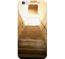 Staircase to the rooftop. iPhone Case/Skin