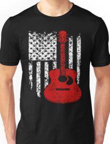 Guitar Flag Shirt Unisex T-Shirt