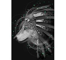 Don't Define Your World (Chief of Dreams: Wolf) Photographic Print