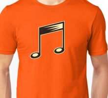 Vintage 40's Music Note Unisex T-Shirt