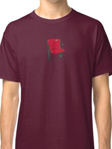 The Lone Red Seat - Red Sox - Fenway Park Classic T-Shirt