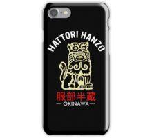 Lion of Hattori Hanzo Sword iPhone Case/Skin