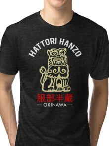 Lion of Hattori Hanzo Sword Tri-blend T-Shirt