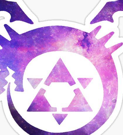 Homunculus Fullmetal Alchemist Galaxy Sticker