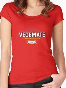 Vegemate T-shirt Women's Fitted Scoop T-Shirt