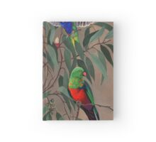 Birds from Paradise. Rosellas Hardcover Journal