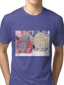 Abstract talk 013 Tri-blend T-Shirt