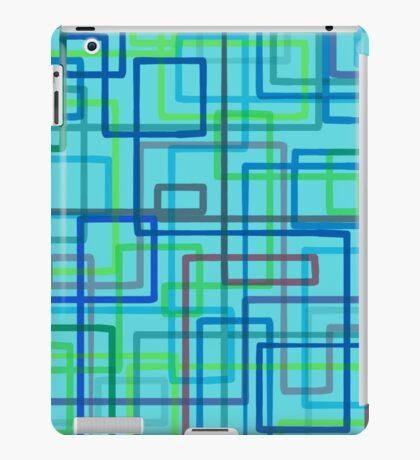 Retro-style pattern, hand-drawn iPad Case/Skin
