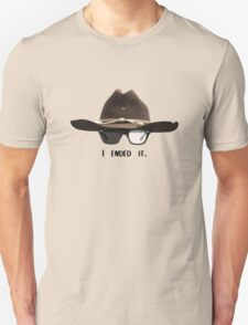I ended it - Carl Grimes Unisex T-Shirt