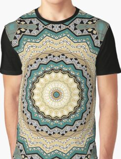 Kaleidoscope. Tribes of Indians.  Graphic T-Shirt