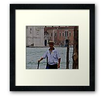 The Gondolier (5) Framed Print