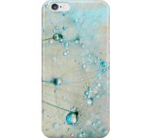 droplets of aqua iPhone Case/Skin