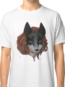 Kitsune - Fox Mask Classic T-Shirt